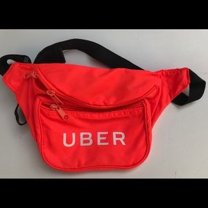 Handbags - UBER Neon Orange Fanny Pack